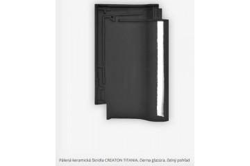 Titania čierna glazúra