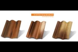 Betónová škridla TERRAN Coppo - Povrchová úprava Color-system - cena/m2