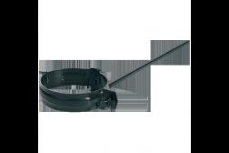 Objímka odkvapovej rúry + závit 300mm + hmoždinka Stabicor M farbený pozink